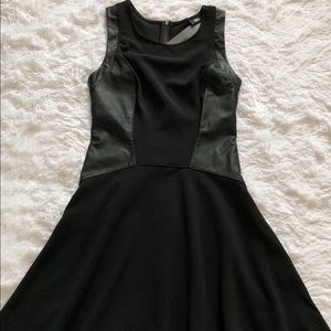 Mossimo Ebony Fit & Flare Dress